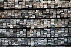 Voor hout dat in bouw wordt gebruikt Royalty-vrije Stock Foto