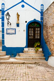 Traditionele Portugese kerk royalty-vrije stock foto's