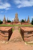 Voor kant van Wat chaiwattanaram met B Royalty-vrije Stock Afbeelding