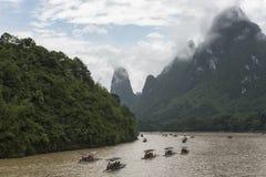 Voor Li River, Guilin Royalty-vrije Stock Foto