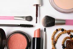 Voor makeup2 Stock Fotografie