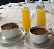 Voor ontbijt en brunch Stock Afbeelding