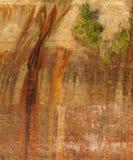 Voor:stellen-rotsen stock foto