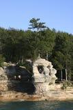 Voor:stellen-rotsen stock afbeeldingen
