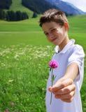 Voor u. .with liefde Royalty-vrije Stock Foto