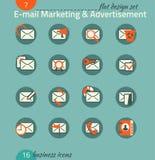 Voor u ontwerp E-mail marketing, reclame, elektronische handel Stock Afbeelding