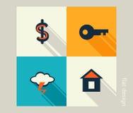 Voor u ontwerp Financiën, marketing, elektronische handel Vlak Ontwerp royalty-vrije illustratie