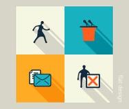 Voor u ontwerp Software en Webontwikkeling, marketing Stock Foto's