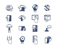 Voor u ontwerp Software en Webontwikkeling, marketing Stock Afbeeldingen
