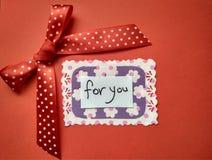 Voor van de de Daginschrijving van Valentine de Dag en de harten van Gelukkig Valentine royalty-vrije stock afbeelding