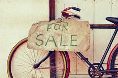 Voor verkoop stock foto