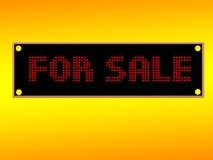Voor verkoop stock illustratie