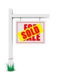 Voor verkoop/verkochte banner Royalty-vrije Stock Afbeeldingen
