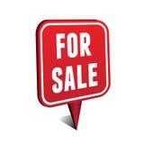 Voor verkoopwijzer Royalty-vrije Stock Foto's