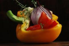Voor verse salade Stock Afbeelding
