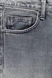 Voor zak van jeans Stock Foto's