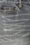 Voor zak van jeans Royalty-vrije Stock Foto's
