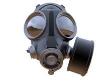 Vooraanzicht - geïsoleerd gasmasker - vector illustratie