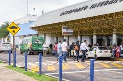 Vooraanzicht van Aeroporto Internacional DE Campo Grande Stock Foto's