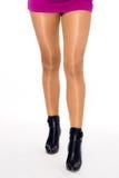 Vooraanzicht van benen Stock Fotografie