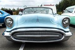 Vooraanzicht van een 1954 Buick Stock Afbeelding