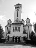 Vooraanzicht van een kathedraal Royalty-vrije Stock Foto's