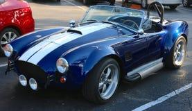 Vooraanzicht van 1969 Ford Shelby Cobra Stock Foto