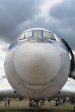 Vooraanzicht van het vliegtuig Stock Fotografie