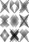 Voorbeelden voor logotype. stock illustratie