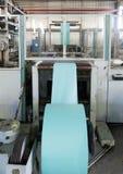 Voorbeeldenboek productiemachine Stock Foto