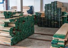 Voorbereid hout in voorraad Royalty-vrije Stock Fotografie