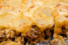 Voorbereide aardappels Royalty-vrije Stock Foto's