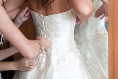 Voorbereiding aan huwelijk Royalty-vrije Stock Foto's