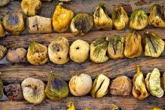 Voorbereiding van droge fig. Royalty-vrije Stock Foto