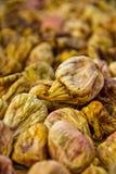 Voorbereiding van droge fig. Stock Foto's