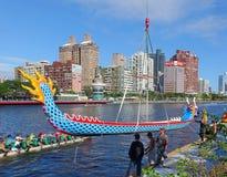 Voorbereiding voor 2016 Dragon Boat Festival Stock Afbeeldingen