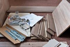 Voorbereiding voor Nieuw Meubilair royalty-vrije stock afbeelding
