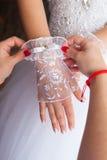 Voorbereidingen voor het huwelijk Stock Afbeeldingen