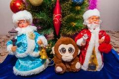 Voorbereidingen voor Kerstmis Royalty-vrije Stock Afbeelding
