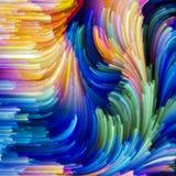 Voorbij Schilder Palette vector illustratie