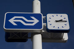 Voorburg станции Стоковые Изображения
