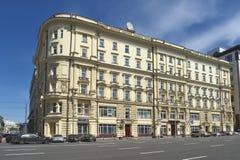 Voordelig Huis en centrale baden Khludovs Stock Afbeeldingen