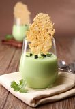 Voorgerecht, courgette en parmezaanse kaas stock foto's