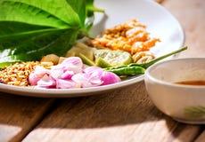 Voorgerecht thaifood royalty-vrije stock foto's