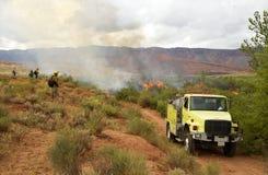Voorgeschreven brandwond Stock Foto