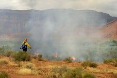 Voorgeschreven brandwond Stock Fotografie