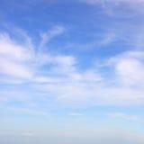 Voorgestelde wolken Stock Foto