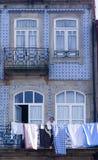 Voorgevel Porto Portugal Royalty-vrije Stock Afbeeldingen