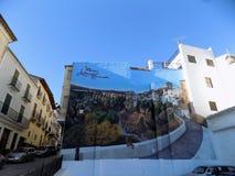 Voorgevel van Alhama DE Granada royalty-vrije stock foto