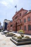 Voorgevel van Casa Rosada in Buenos aires - Argentinië Stock Foto